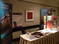 Fine Arts Council 2013 conference booth