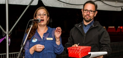 Arts Champions Fundraiser - Keri and Adam Mitchell featured