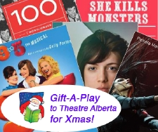 Gift-A-Play to Theatre Alberta for Christmas!