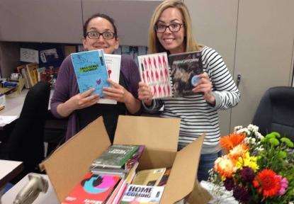 New books for Theatre Alberta's Library
