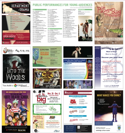 Young Playbill advertisers