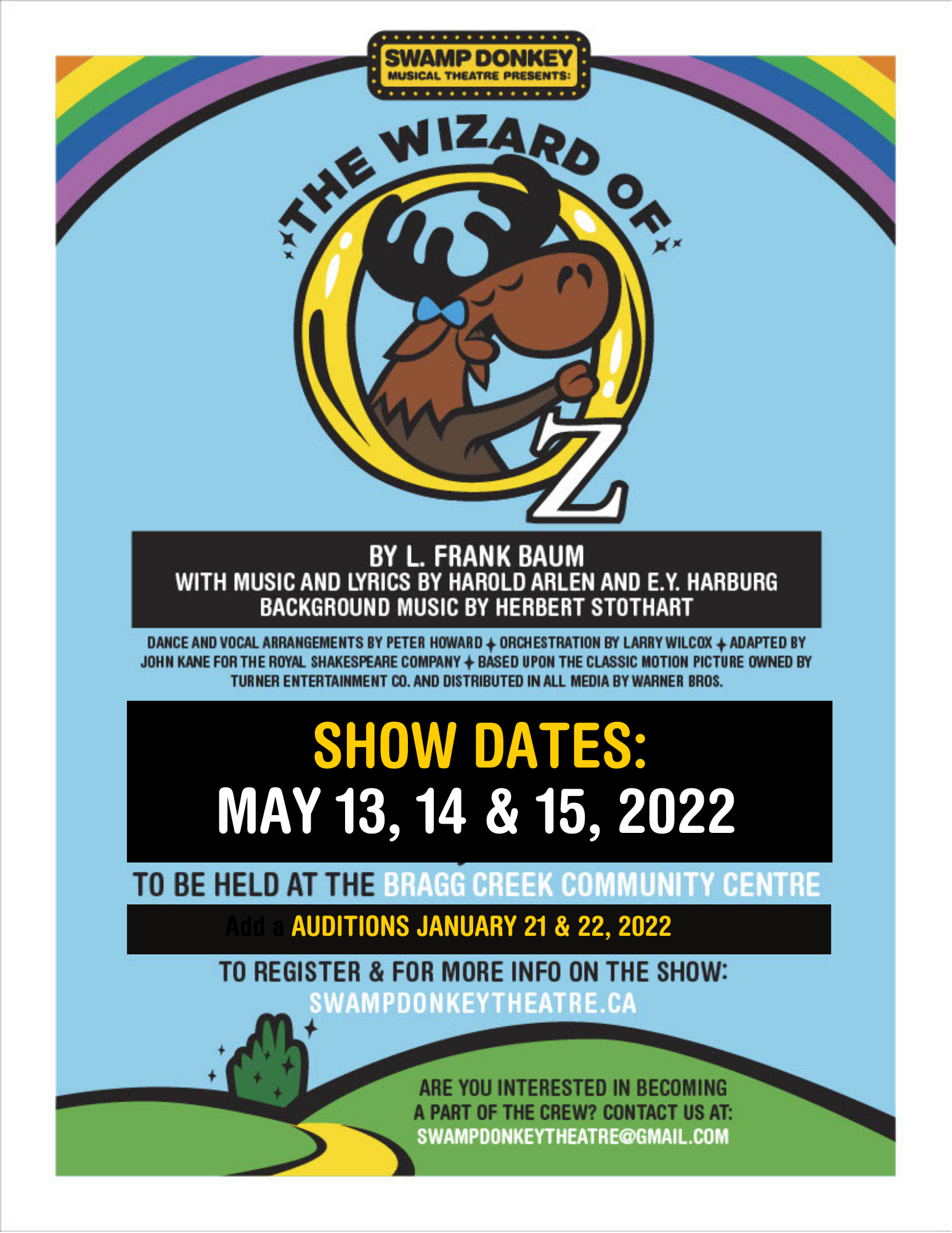 Upload a poster or graphic for your show or festival: