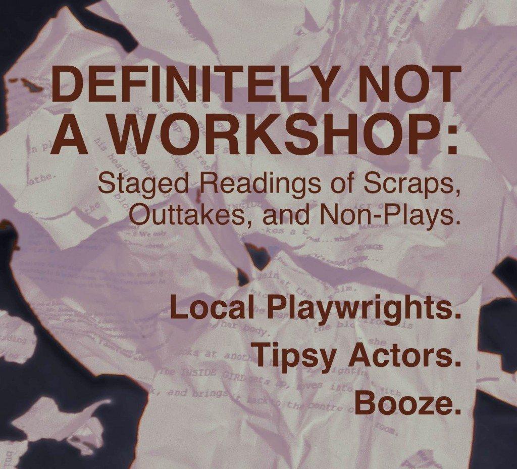 Definitely Not A Workshop - Ronin Theatre