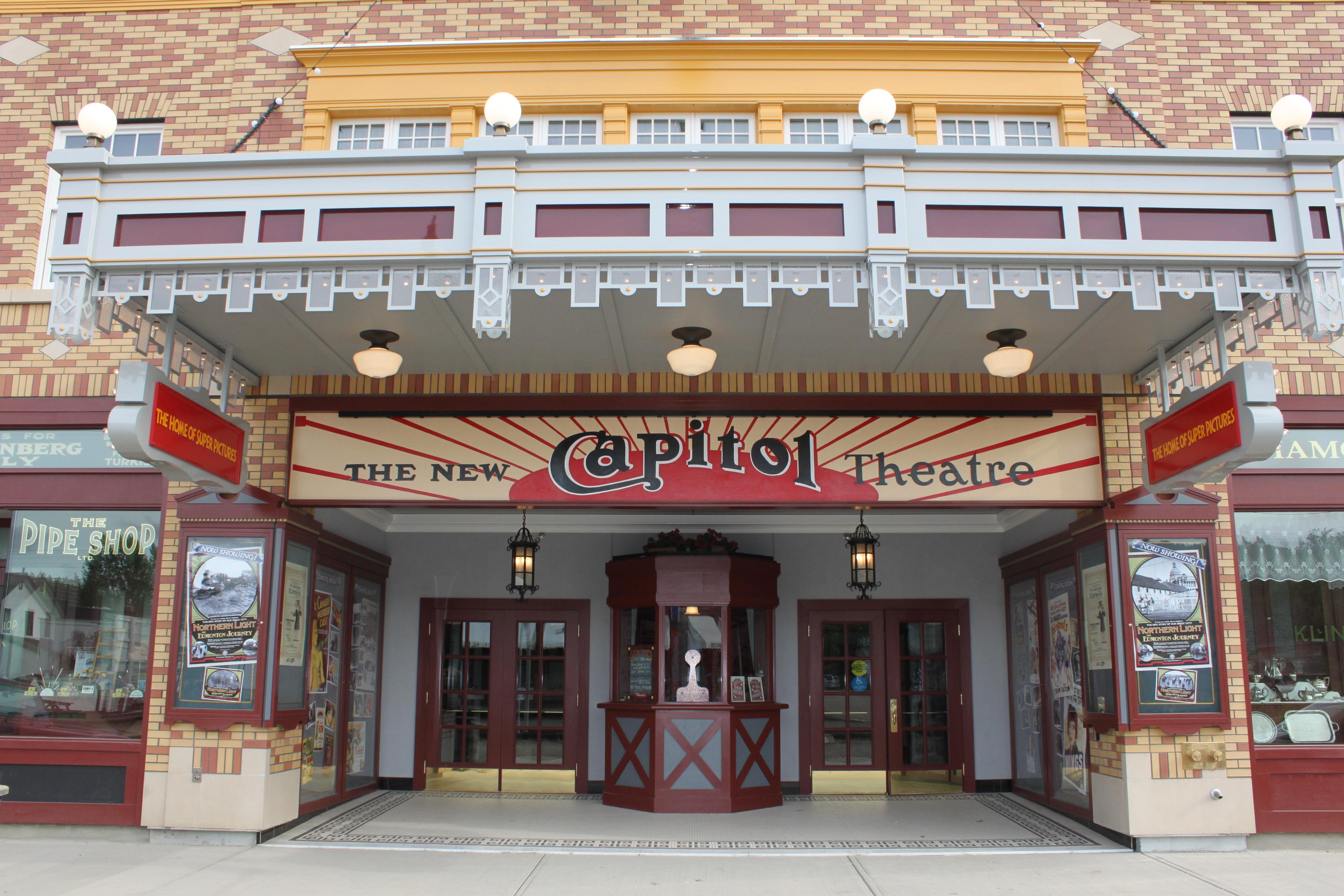 Capitol Theatre at Fort Edmonton Park