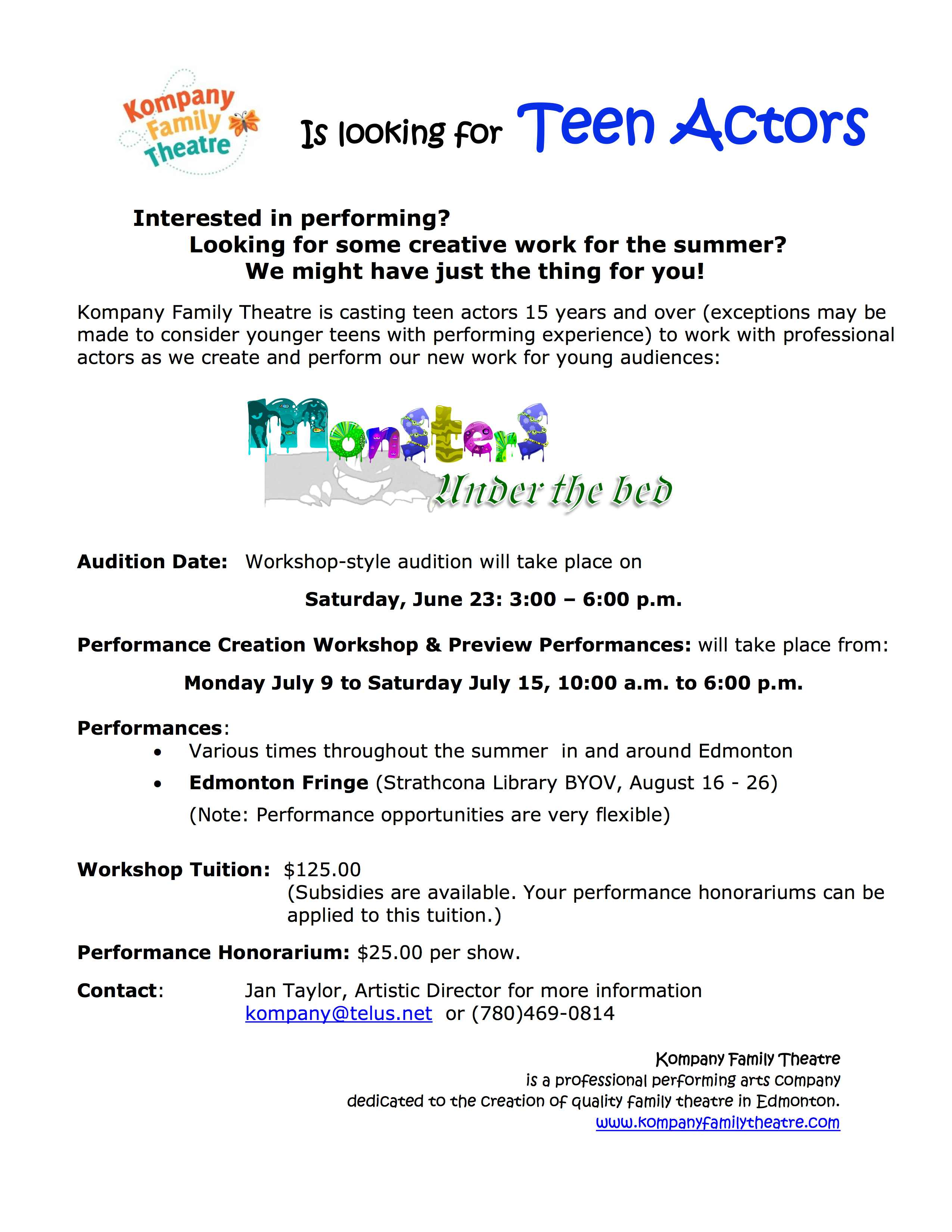 Workshops Archives - Page 33 of 37 - Theatre AlbertaTheatre Alberta