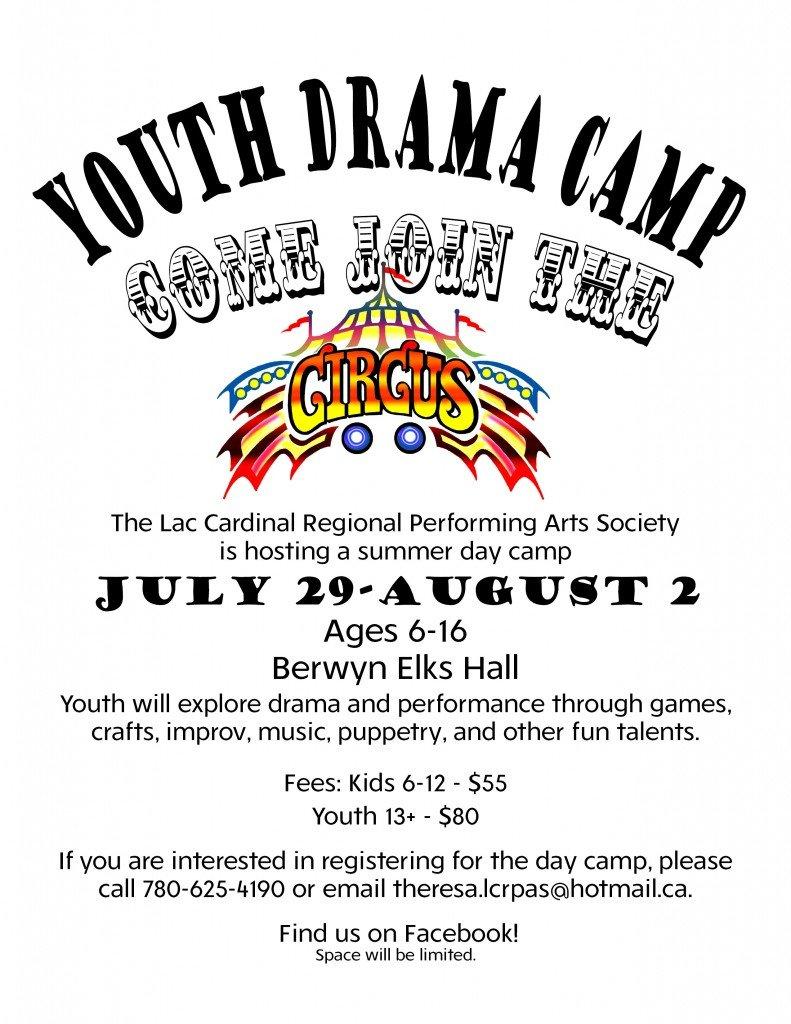 summer camp grimshaw youth drama camp circus theme u2013 lac