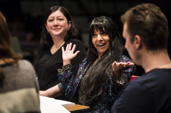 Participants in the 2014 Banff Playwrights Colony. Image courtesy of The Banff Centre