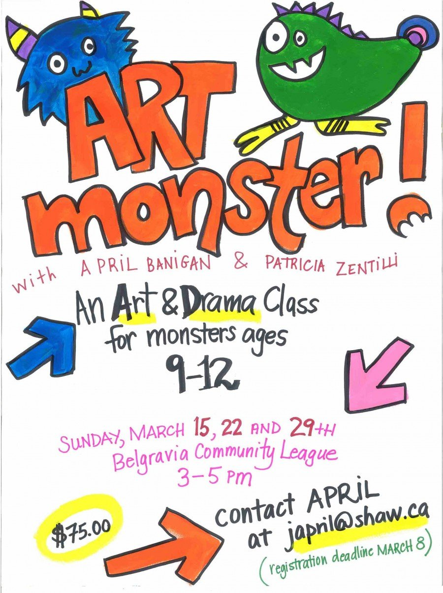 Classes (Edmonton): Drama and Art class for kids ages 9-12