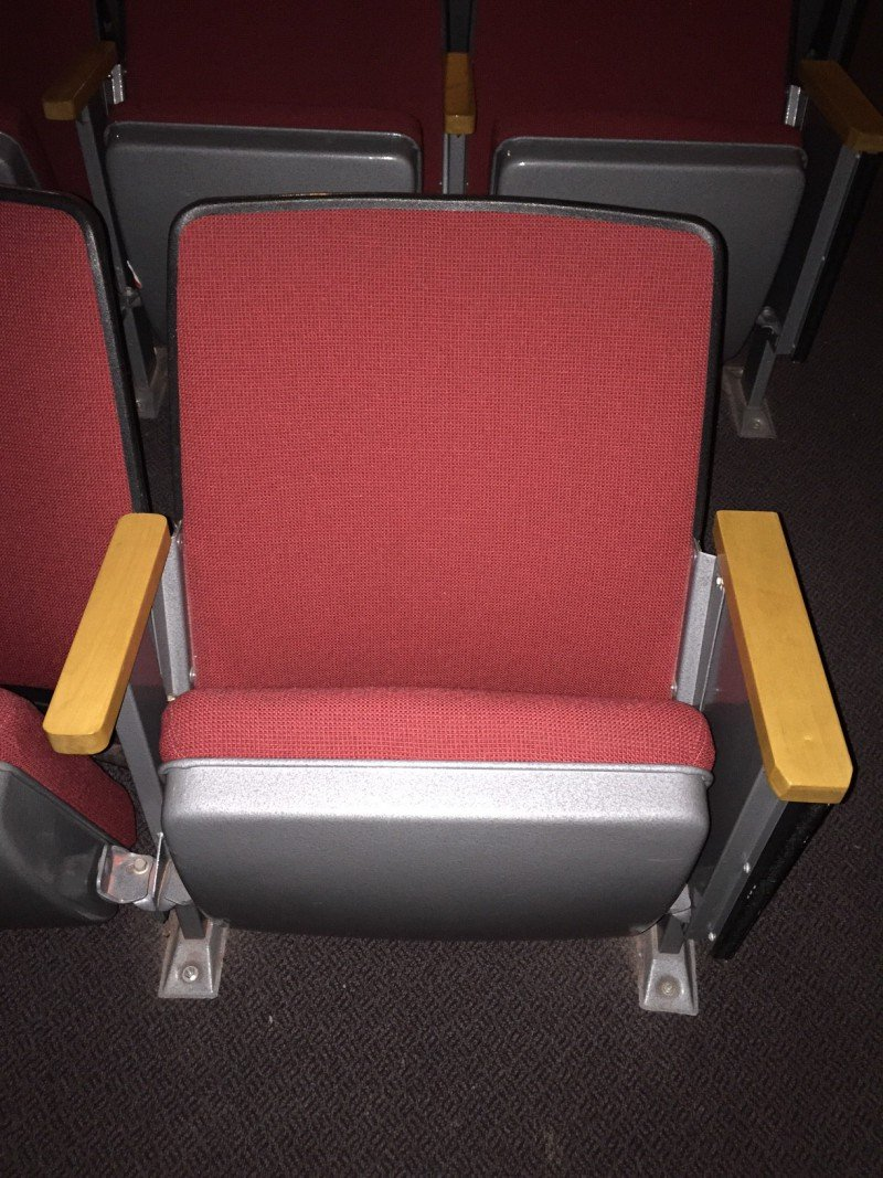 84 theatre seats reclaimed from theatre and available now only 25 each located in calgary