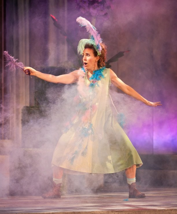 Annette Loiselle in the Freewill Shakespeare Festival's 2013 production of A Midsummer Night's Dream. Photo by Lucas Boutilier.