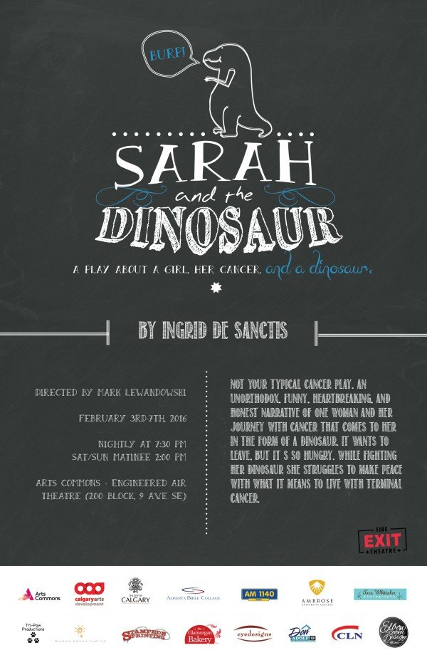 Sarah and the Dinosaur by Fire Exit Theatre