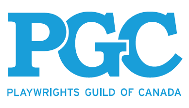 Playwrights Guild of Canada logo