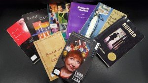 Several Plays Featuring Women's History Splayed Out For Display
