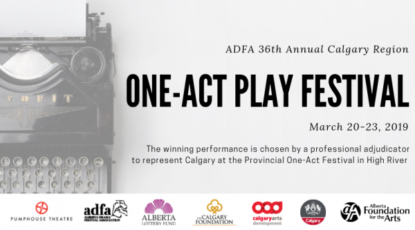 Call for Submissions (Calgary): ADFA Calgary Region One Act Play