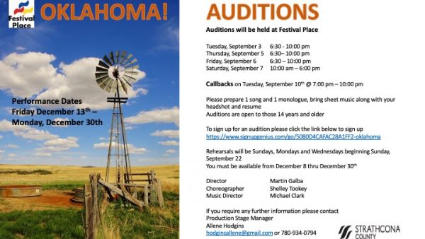Auditions Archives - Theatre AlbertaTheatre Alberta
