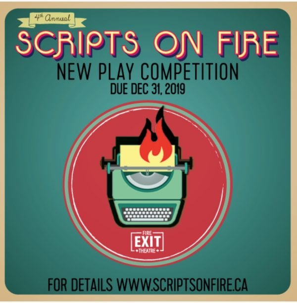 Call For Submissions National Scripts On Fire New Play
