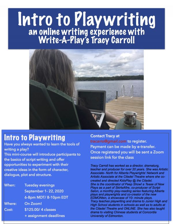 Intro to Playwriting banner image