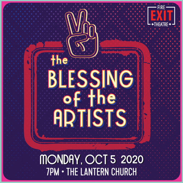 Blessing of the artists poster image