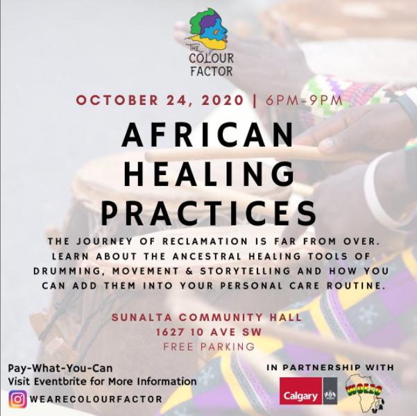 African Healing Practices Instagram Image