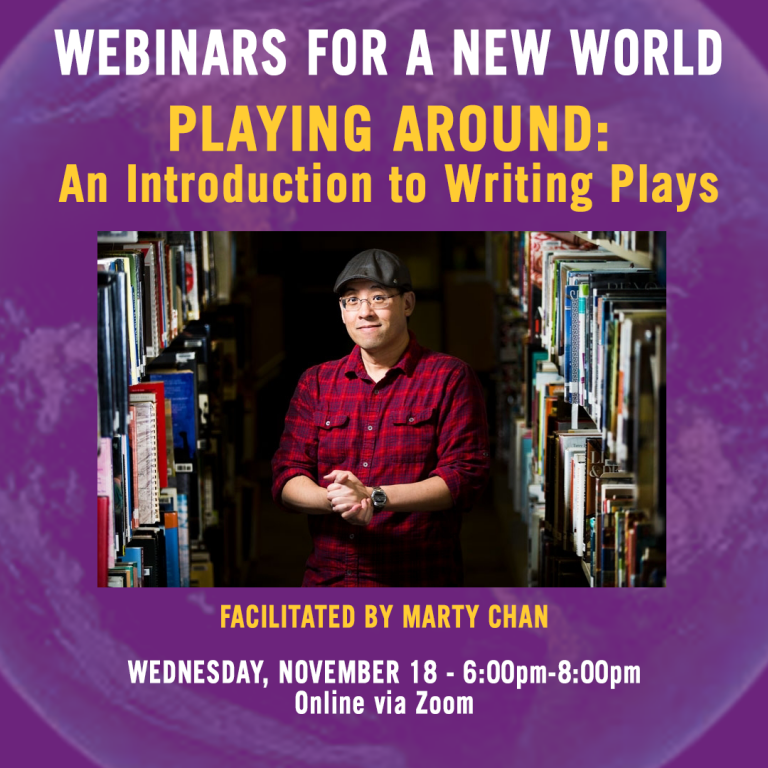 Webinars for a New World Playing Around: An Introduction to Writing Plays