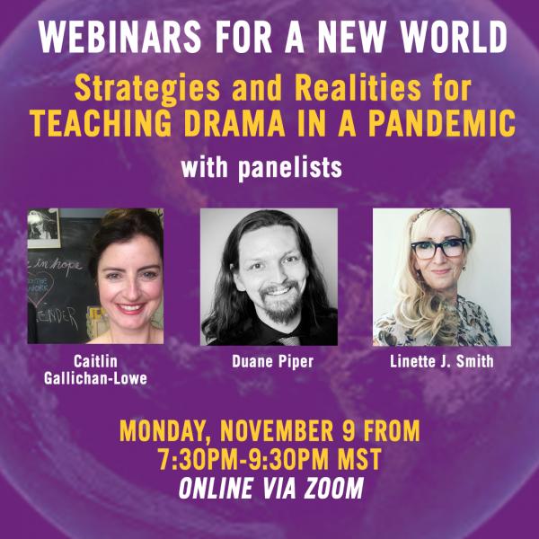 Teaching Drama in a Pandemic poster image
