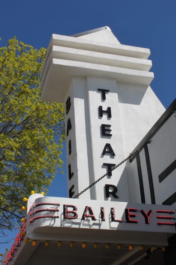Image of the Baily Theatre marquee