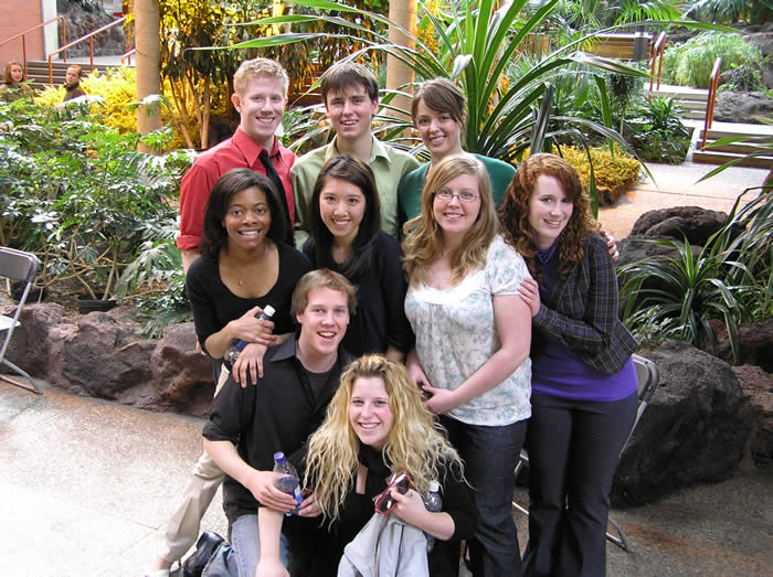 Mount Royal College Students at Emerge