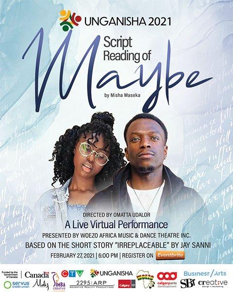 Unganisha 2021 - Script reading of Maybe - directed by Omatta Udalor