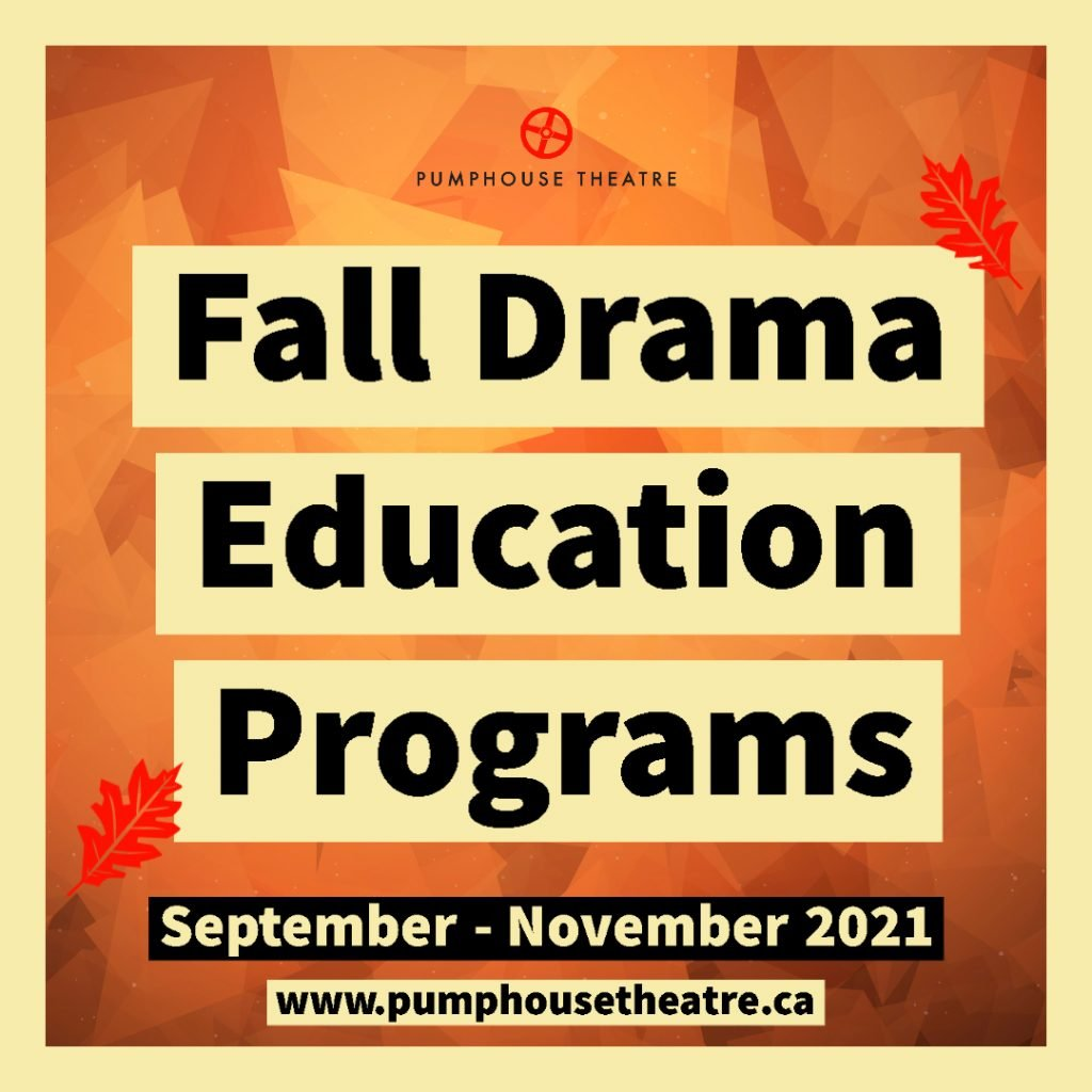 Fall Drama Education Program