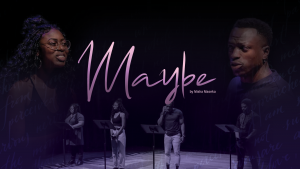 Maybe Cy Misha Maseka Promo Image Several Black Artists On Stage In Front Of Music Stands