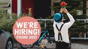 We're hiring - Found Festival 2021
