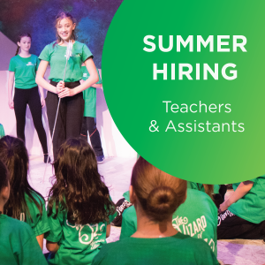 Summer hiring! Teachers and assistants - StoryBook Theatre