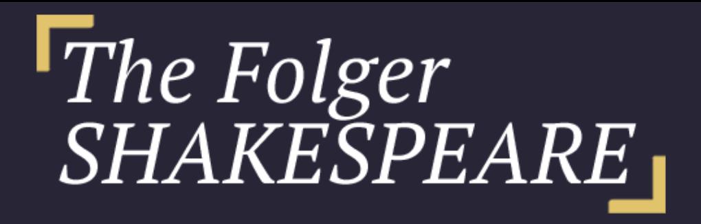 The Folger Shakespeare Logo
