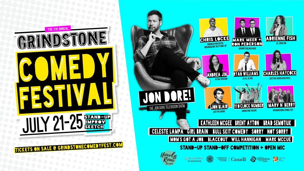 Volunteer for the 2021 Grindstone Comedy Festival