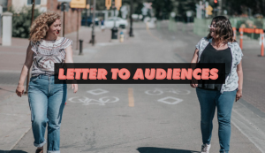 Letters to Audiences