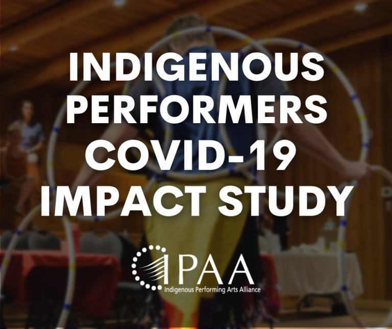 Indigenous Performers COVID-19 Impact survey
