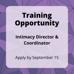 Intimacy Director & Coordinator training