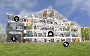 image of cSpace building