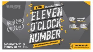 Grindstone Theatre presents The Eleven O'Clock Number