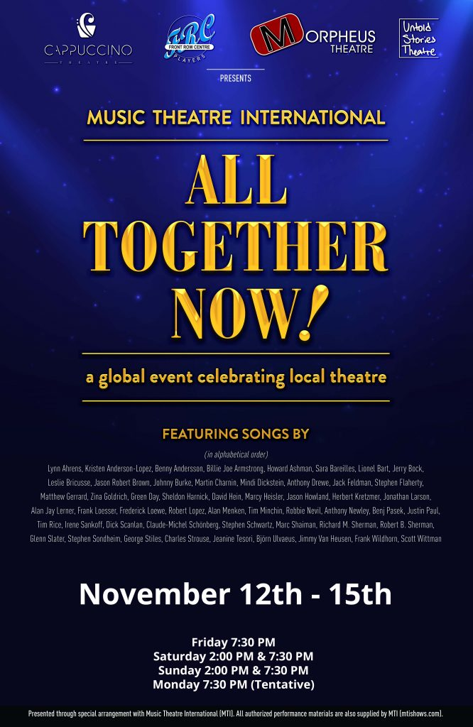 Music Theatre International's All Together Now