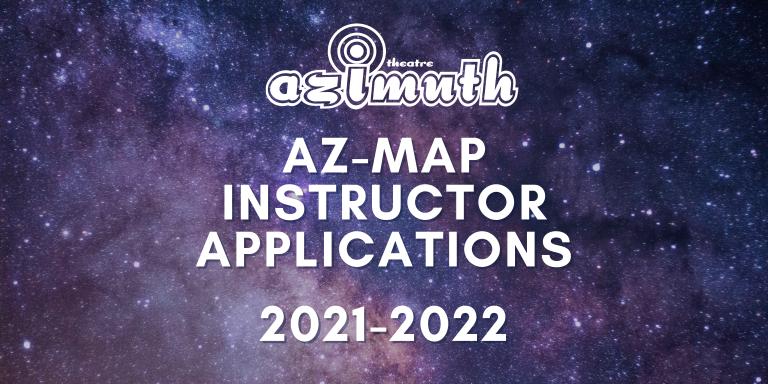 Azimuth Theatre AZ-Map Instructor Applications 2021-2022