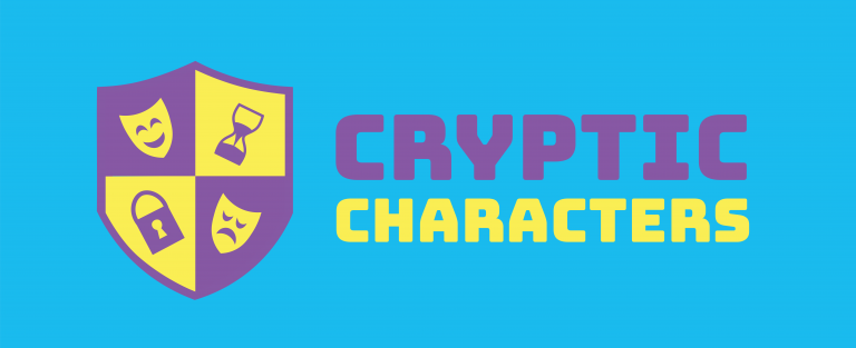 Cryptic Characters logo