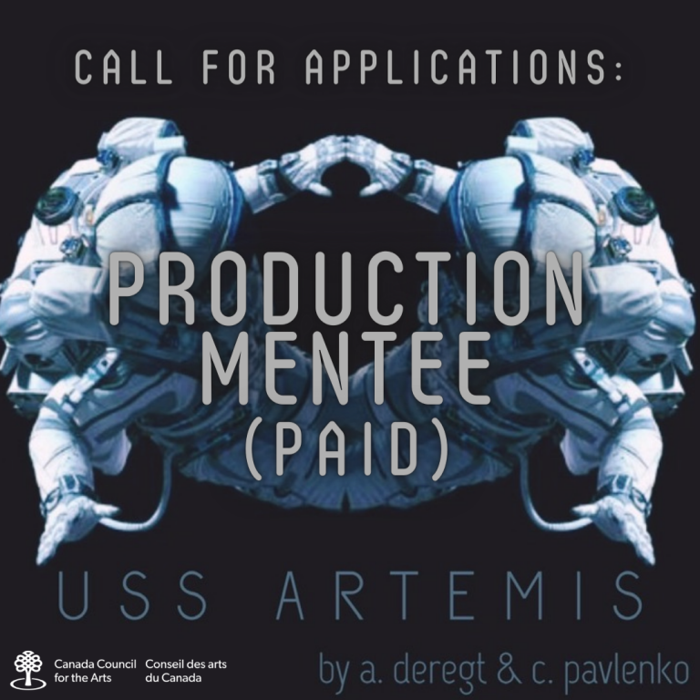 Call for applications! Production Mentee (Paid) for USS Artemis