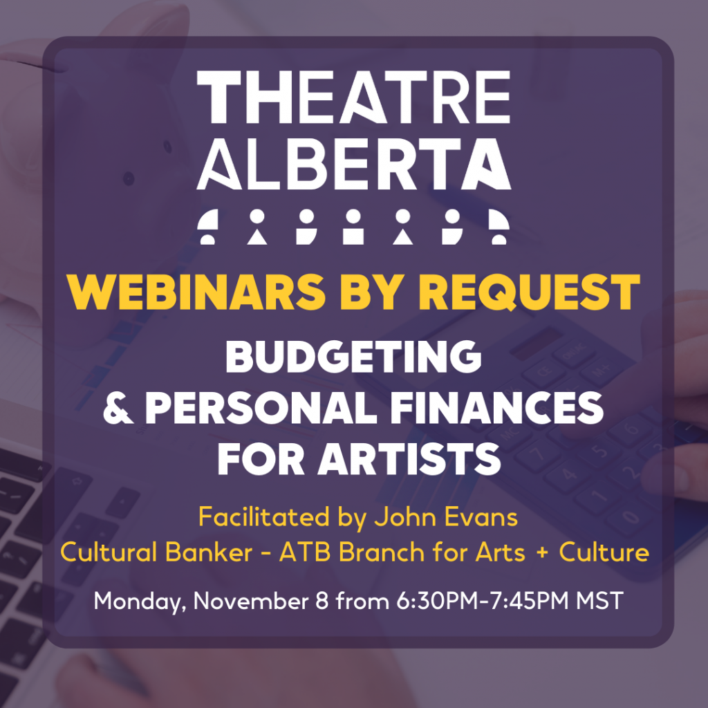 Budgeting & Personal Finances for Artists