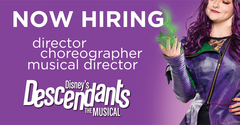 StoryBook Theatre is hiring production positions for The Descendants